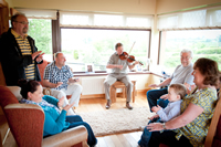 Entertaining at Drumcorroy Farmhouse