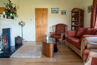 Lounge at Drumcorroy House Donegal